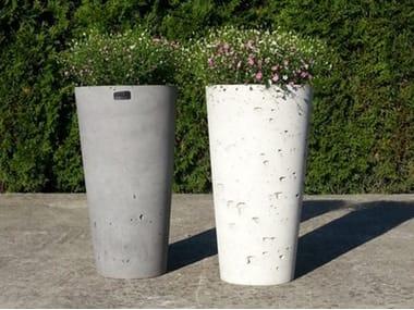 Concrete garden vase / vase KUK