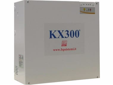 Pressurization system for filtering smoke-proof KX300®