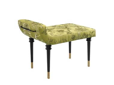 Upholstered fabric bench KYRO | Bench