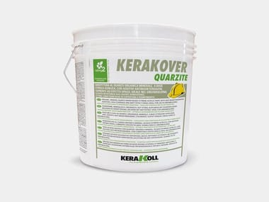 Idropittura al quarzo organica minerale eco-compatibile KERAKOVER QUARZITE BIANCO