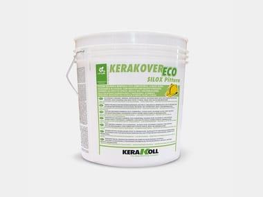 Pittura organica minerale eco-compatibile KERAKOVER ECO SILOX PITTURA BIANCO