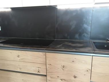 Lava stone kitchen worktop Kitchen worktop
