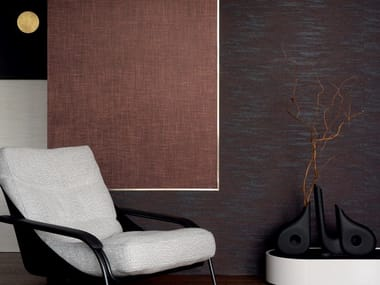 Solid-color jute wall fabric VESTIAIRE MASCULIN - L'INCONTOURNABLE