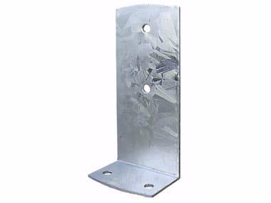 Supporto pesante ad L in acciaio zincato Supporto pesante ad L