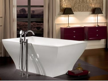 Freestanding Quaryl® bathtub LA BELLE | Bathtub
