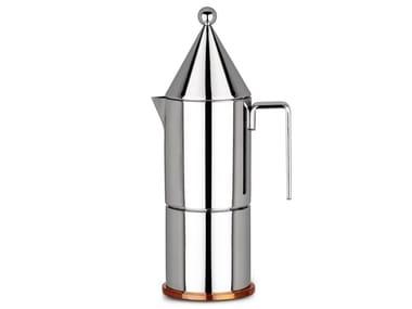 Kaffeezubereiter aus Edelstahl LA CONICA