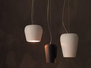 Lampada a sospensione in ceramica LA LUN | Lampada a sospensione