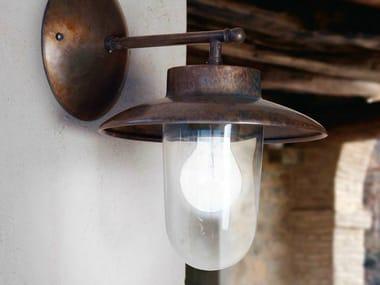 Lampada da parete in metallo con braccio fisso LA TRAVIATA | Lampada da parete