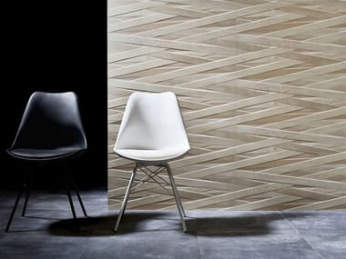 Indoor white-paste wall tiles LACCIO