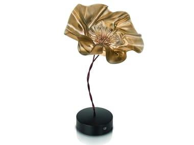 LED cordless Lentiflex® table lamp LAFLEUR BATTERY