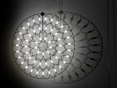 LED steel pendant lamp LAFRA | Pendant lamp