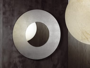 Round wall-mounted mirror LAGO DORATO