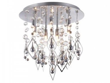 Metal ceiling lamp LAGO