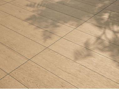 Pavimento/rivestimento in gres porcellanato effetto legno LAGOM NATURAL BLOND