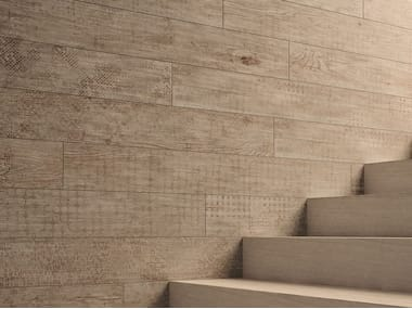 Pavimento/rivestimento in gres porcellanato effetto legno LAGOM NATURAL LIGHT