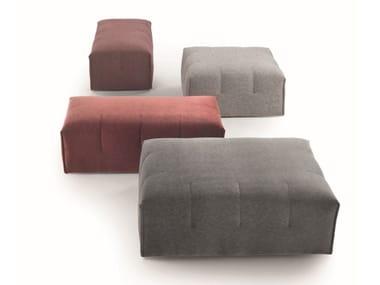 Fabric pouf LAIN