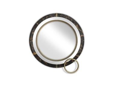 Round wall-mounted mirror LAKEWOOD