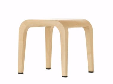 Wooden stool LALEGGERA LITTLE STOOL - 315