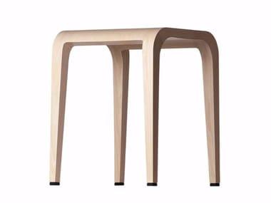 Wooden stool LALEGGERA STOOL - 310