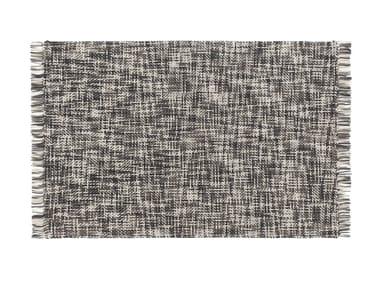Rectangular wool rug LAMA