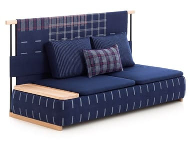 High-back fabric sofa LAN | High-back sofa