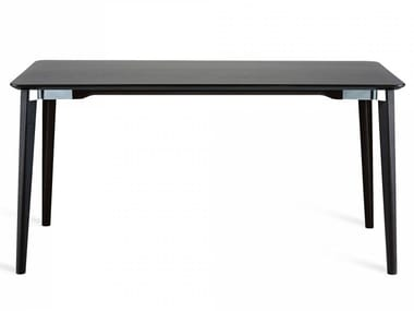 Rectangular ash table LANCASTER | Table