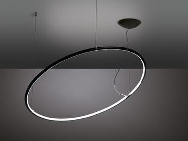 LED pendant lamp LANCIA TONDA