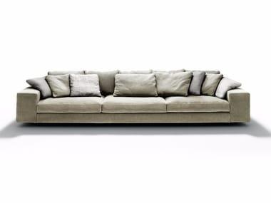 Sofá de tecido com chaise-longues LANDSCAPE