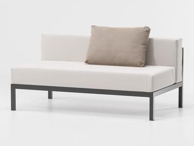 Modular fabric garden sofa LANDSCAPE   Modular garden sofa