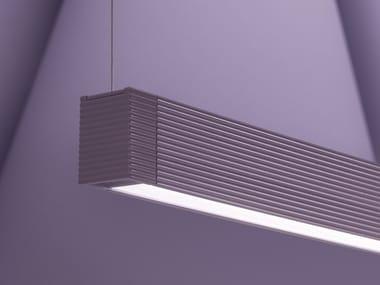 LED aluminium pendant lamp LANDSCAPE