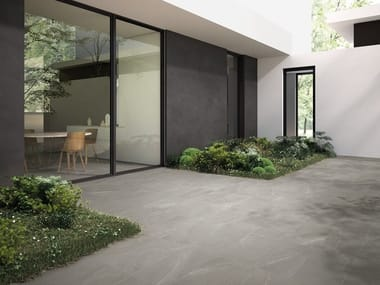 Rectified porcelain stoneware wall/floor tiles with stone effect LANDSTONE