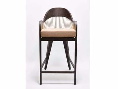 High stool with armrests LANKA | High stool