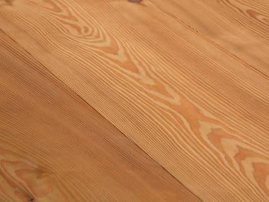 Larch flooring LARCH - LYE TREATED/ NATURAL OIL