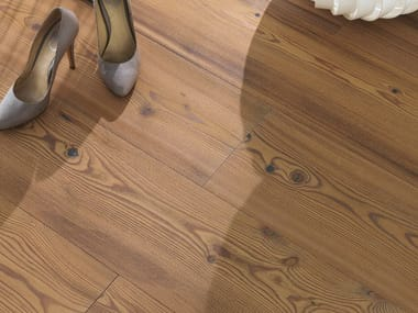 Larch flooring LARCH VULCANO - WHITE OIL