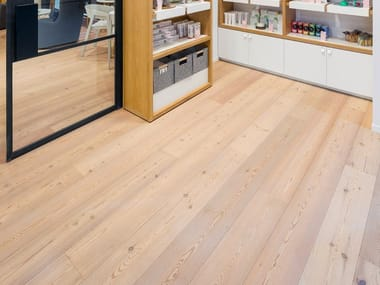 Larch flooring LARCH - WHITE OIL