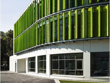 Solar shading LARGE SLAT SYSTEMS