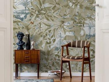 Digital printing Tropical wallpaper LAS PALMAS