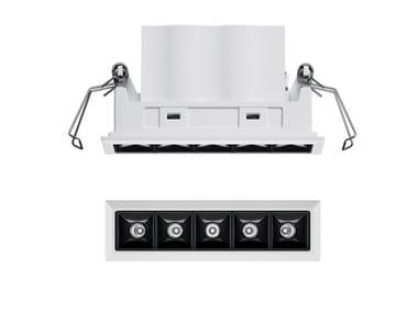 LED recessed die cast aluminium spotlight for false ceiling LASER BLADE XS   Spotlight