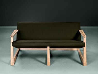 Contemporary style fabric small sofa LASTA | Small sofa