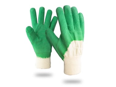 Personal protective equipment LATEX GREEN