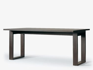 Rectangular wooden table LATI