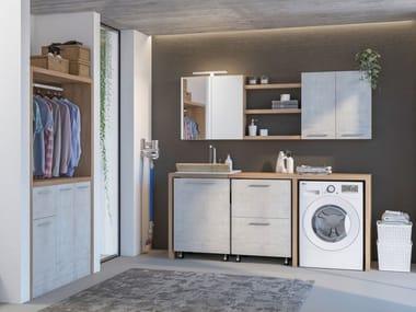 Mobile lavanderia con lavatoio LAVANDERIA 6