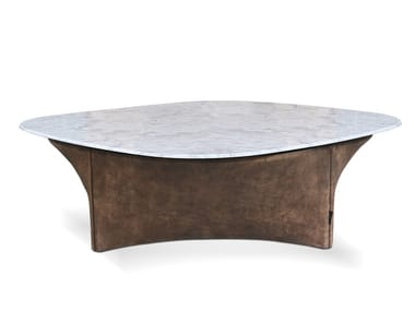 Low square coffee table for living room LAUREN