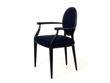 Medallion chair with armrests LAVAL | Chair with armrests