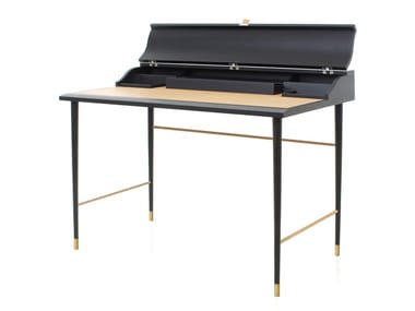Escrivaninha de madeira LAVAL | Escrivaninha