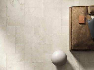 Indoor full-body porcelain stoneware wall/floor tiles with stone effect LAVAREDO | Indoor wall/floor tiles