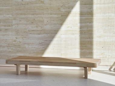 Solid wood garden bench LAVERI