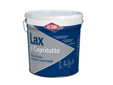 Pittura acrilica antipolvere e smacchiabile LAX IL COPRITUTTO OPACO