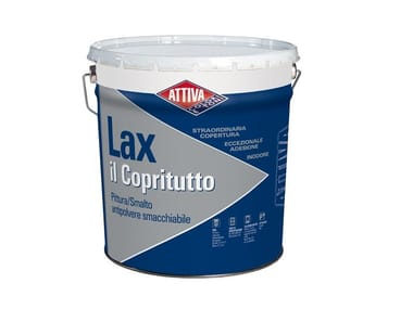 Pittura acrilica antipolvere e smacchiabile LAX IL COPRITUTTO SATINATO