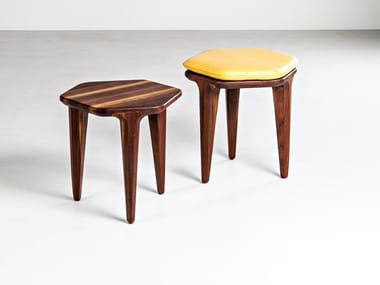 Wooden stool LAYAIR   Stool